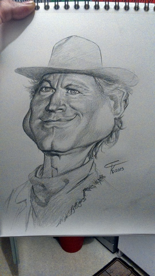 Terence Hill by wilf